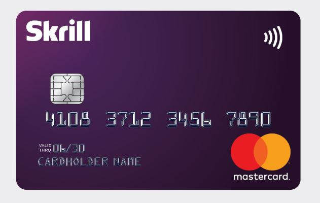 Skrill Virtual Card