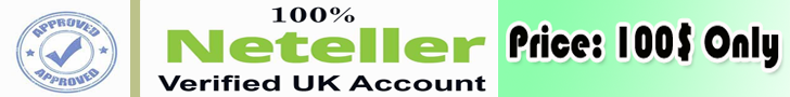 Verified Neteller Account