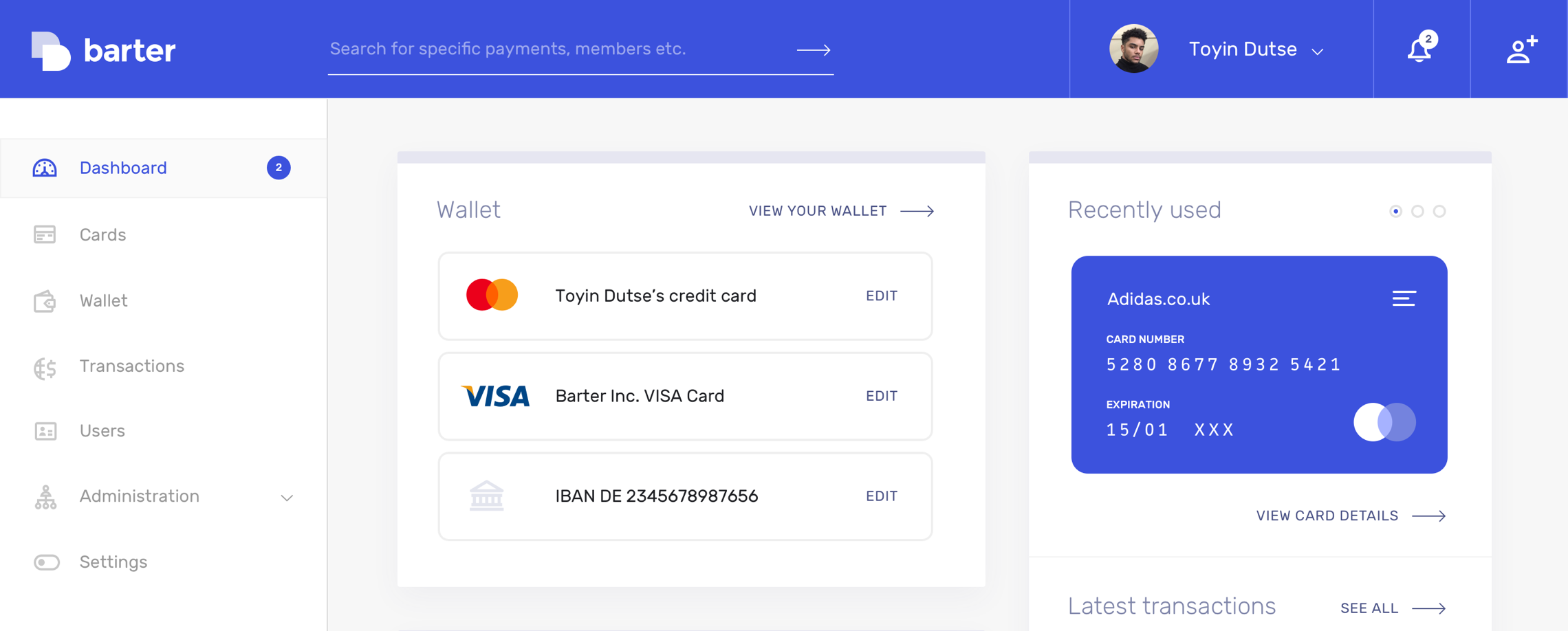 How to Get FREE Virtual VISA Credit Card from GetBarter CO