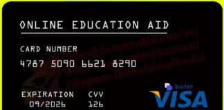 Barter Free Virtual VISA Card 2021