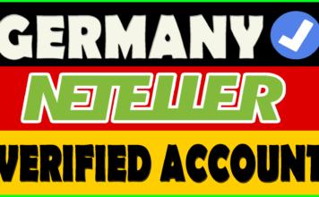 Fully Germany Verified Neteller Account