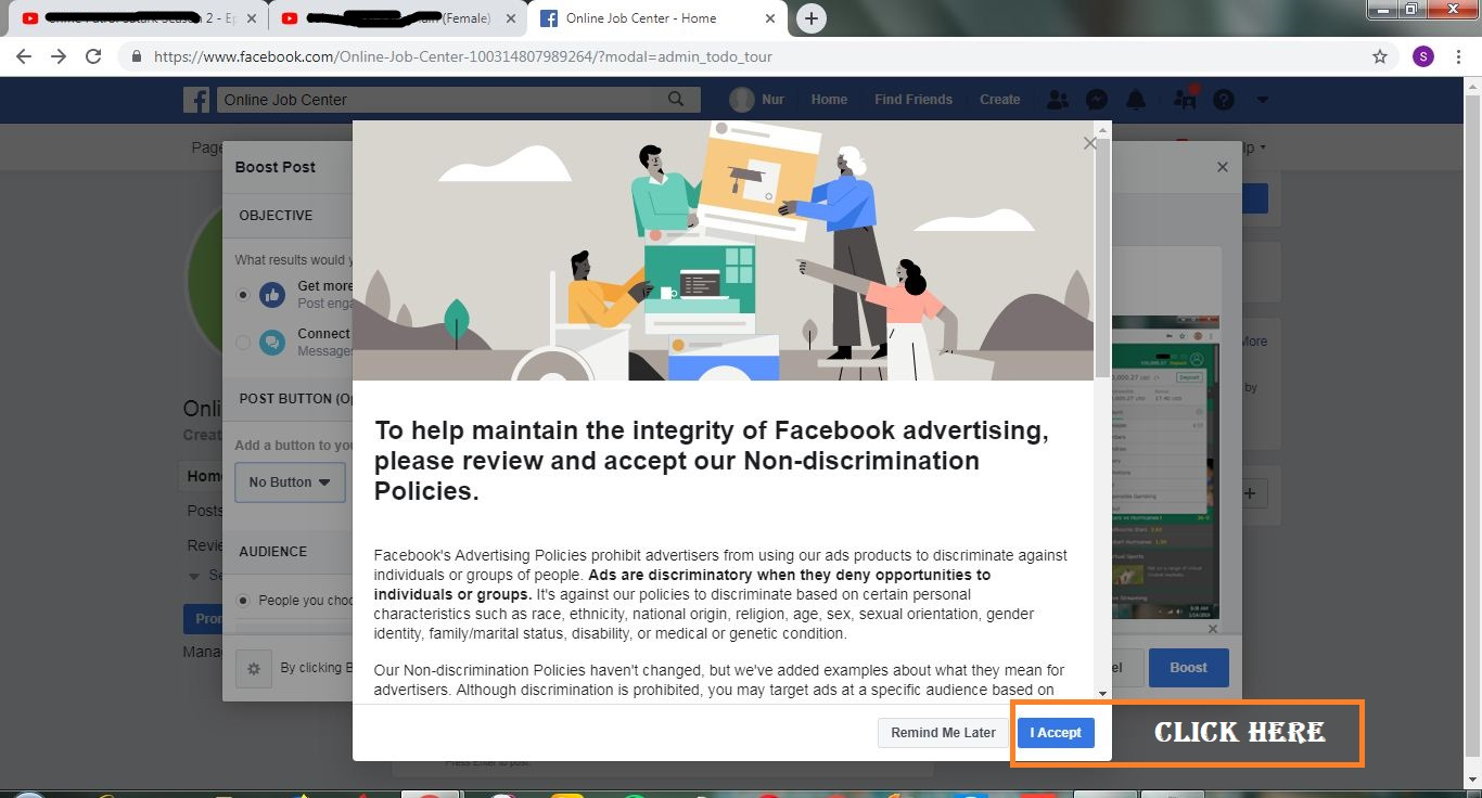 Facebook Ads Terms and Policy