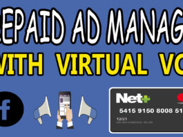 Facebook Prepaid Ad Manager