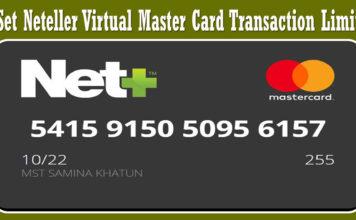 Neteller Virtual Master Card