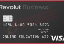 Revolut ATM VISA Card 2021