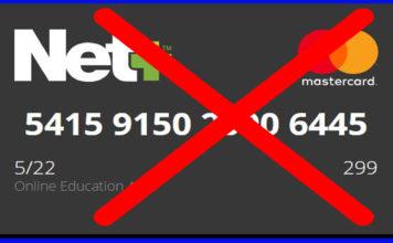 Cancel Neteller Virtual Master Card