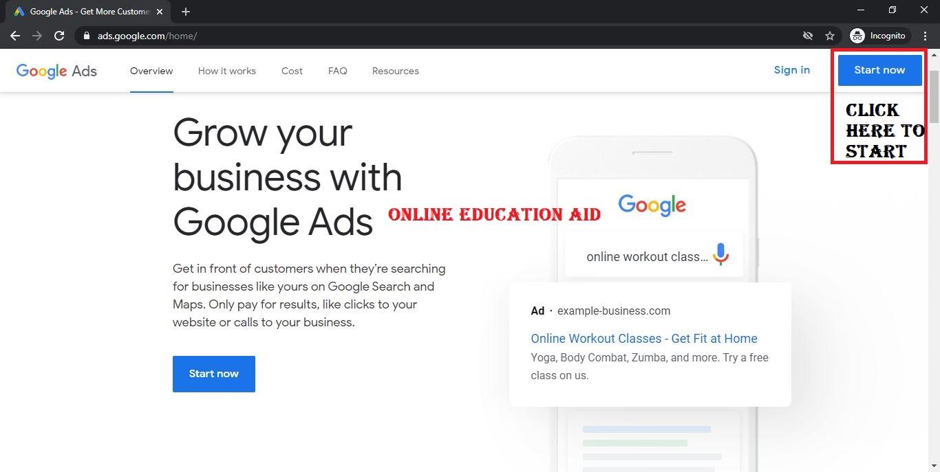 Google Prepaid Ads Account 2021